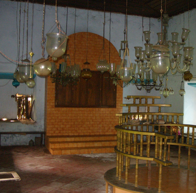 Synagogue interior view